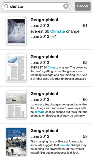 Geographical & Archive screenshot 4