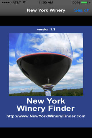 New York Winery Finder - náhled