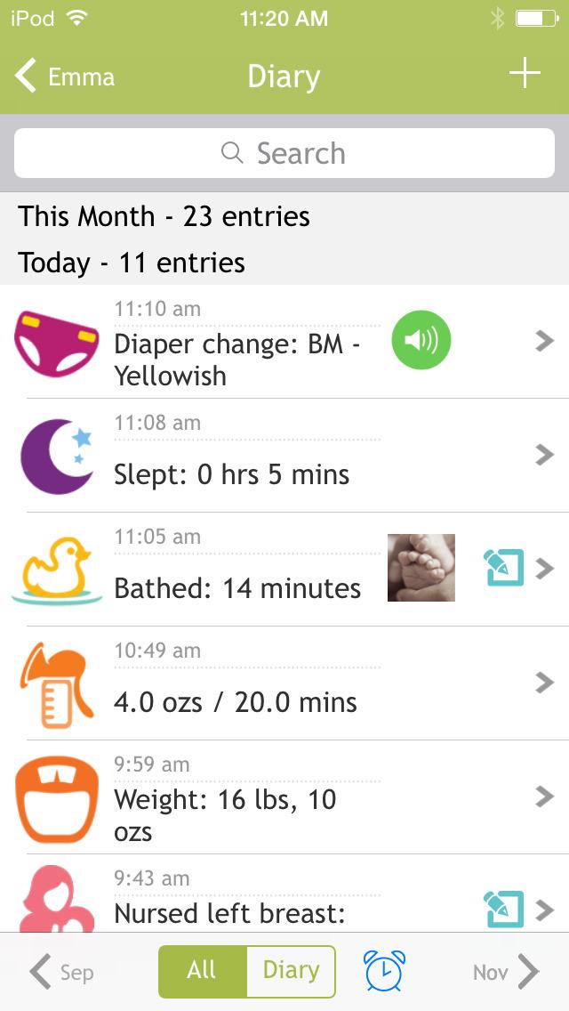 Baby Breastfeeding Tracker screenshot 4