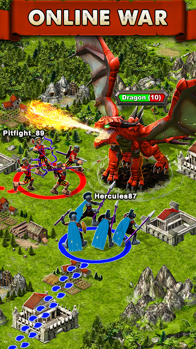 Game of War - Fire Age screenshot 2