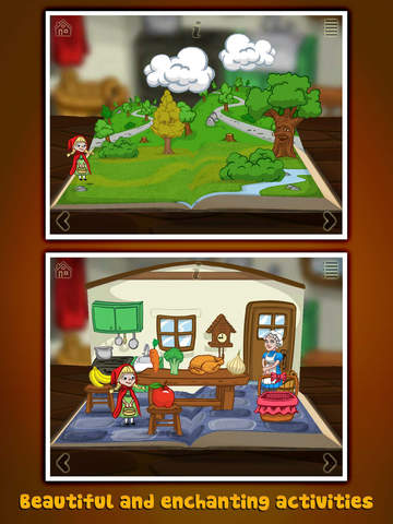 StoryToys Red Riding Hood screenshot 8