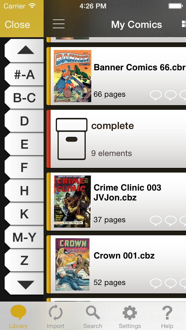 YACReader - Comic Reader screenshot 2