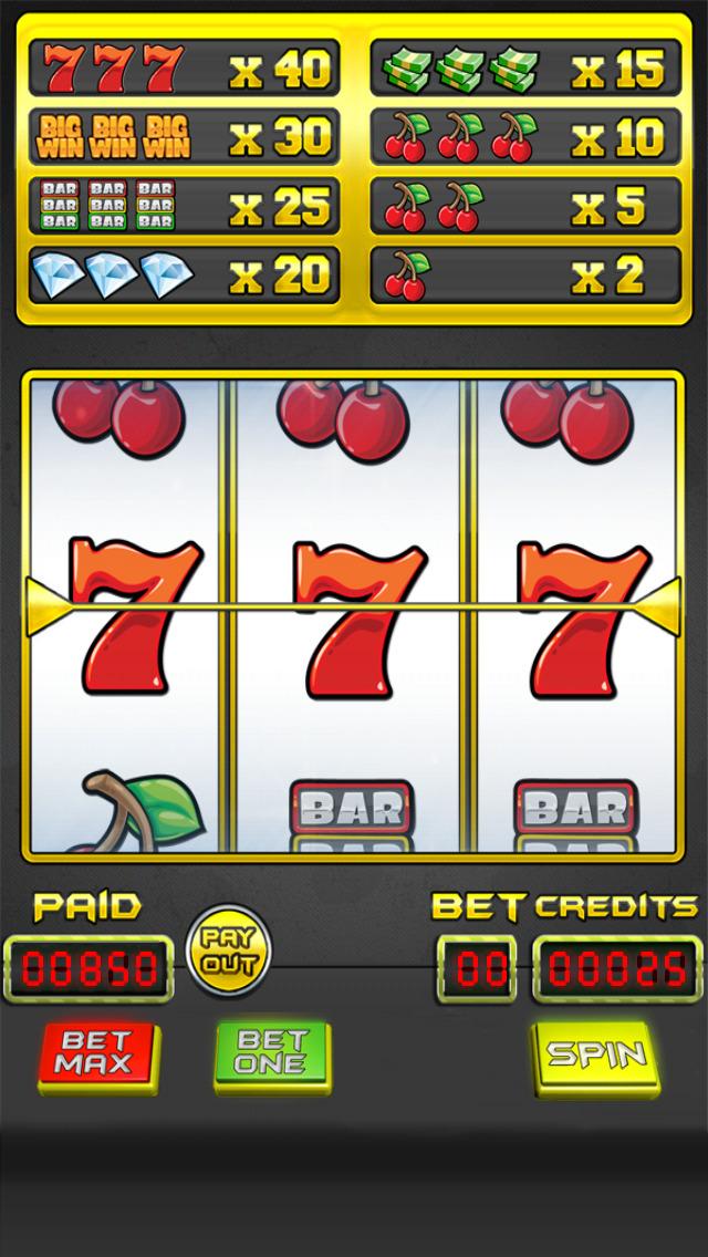 `Lucky Gold Vegas 777 Slots - Slot Machine with Casino 21 Blackjack, Prize Wheel screenshot 1