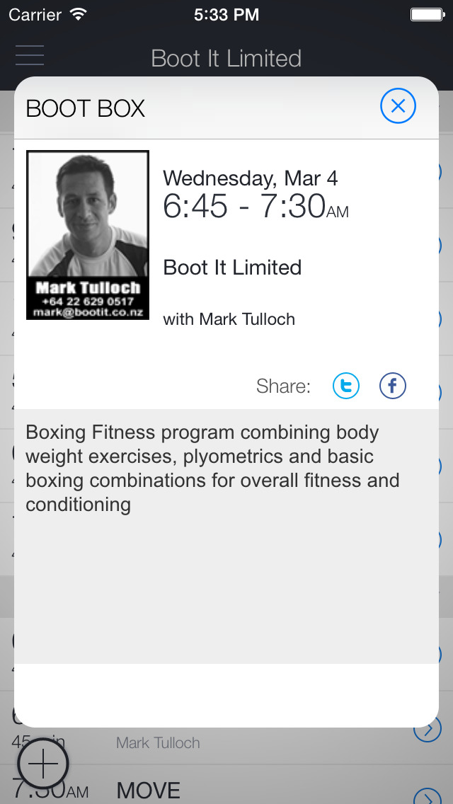 Boot It Fitness Hub screenshot 2
