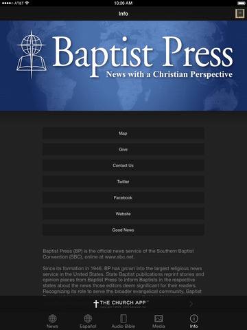 Baptist Press screenshot 6