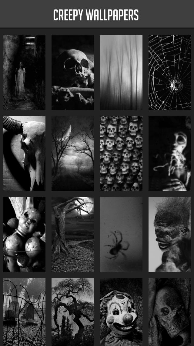 Creepy Wallpapers screenshot 1