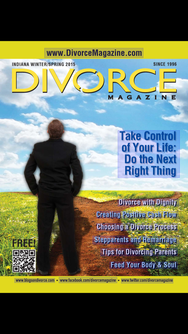 Indiana Divorce Magazine screenshot 1