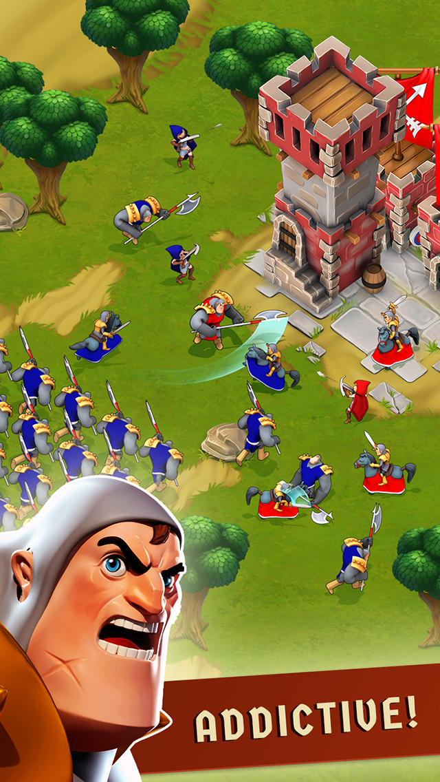 War of Empires : Clash of the Best by Fun Games For Free screenshot 2
