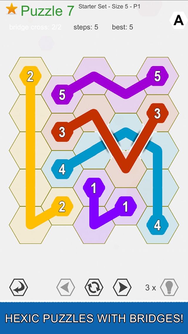 Hexic Link: Bridges screenshot 1