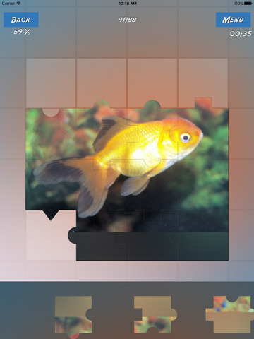 Puzzles Fishes screenshot 6
