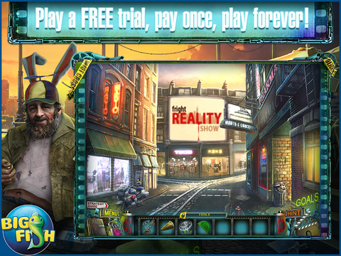 Reality Show: Fatal Shot HD - A Hidden Object Detective Game screenshot 1