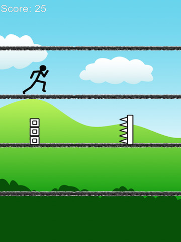 A long way - stickman jump and run free screenshot 5