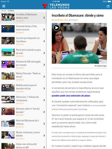 Telemundo Las Vegas screenshot 8