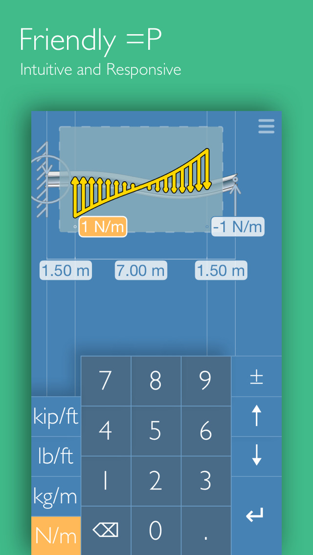 Deflection Beam Calculator screenshot 4