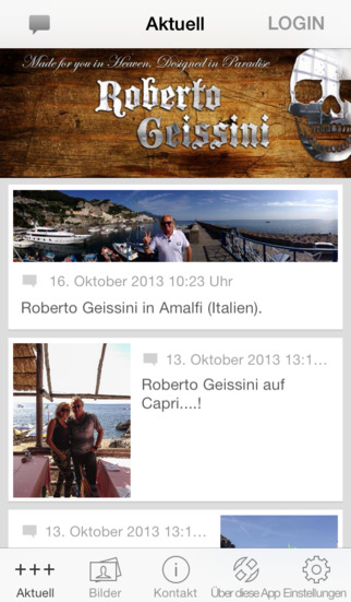 Roberto Geissini screenshot 1