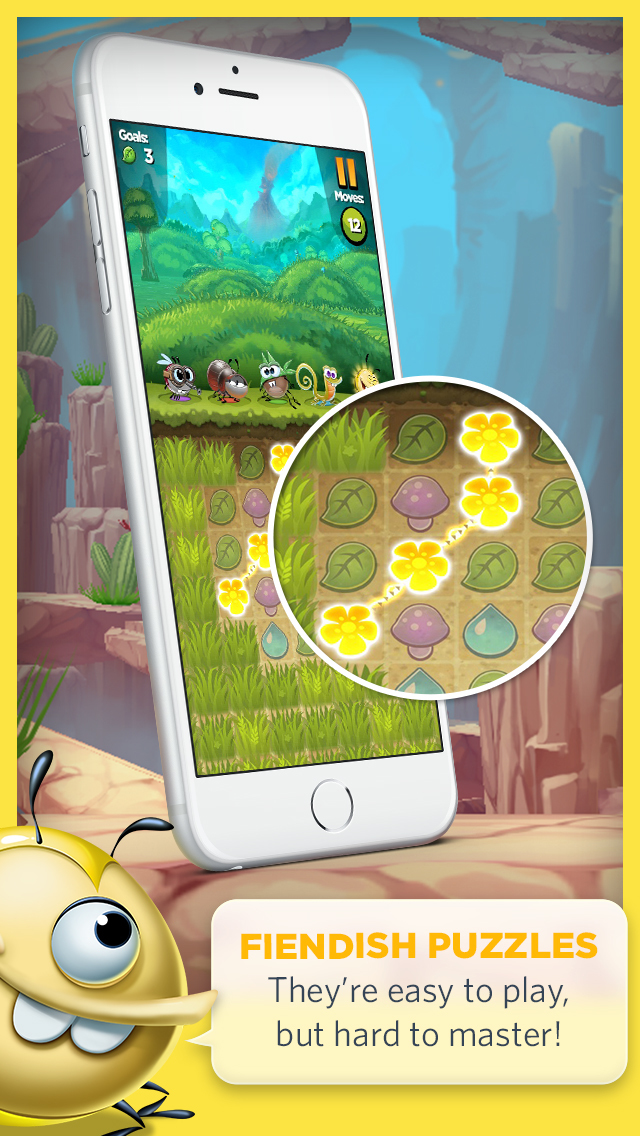 Best Fiends - Puzzle Adventure screenshot 2