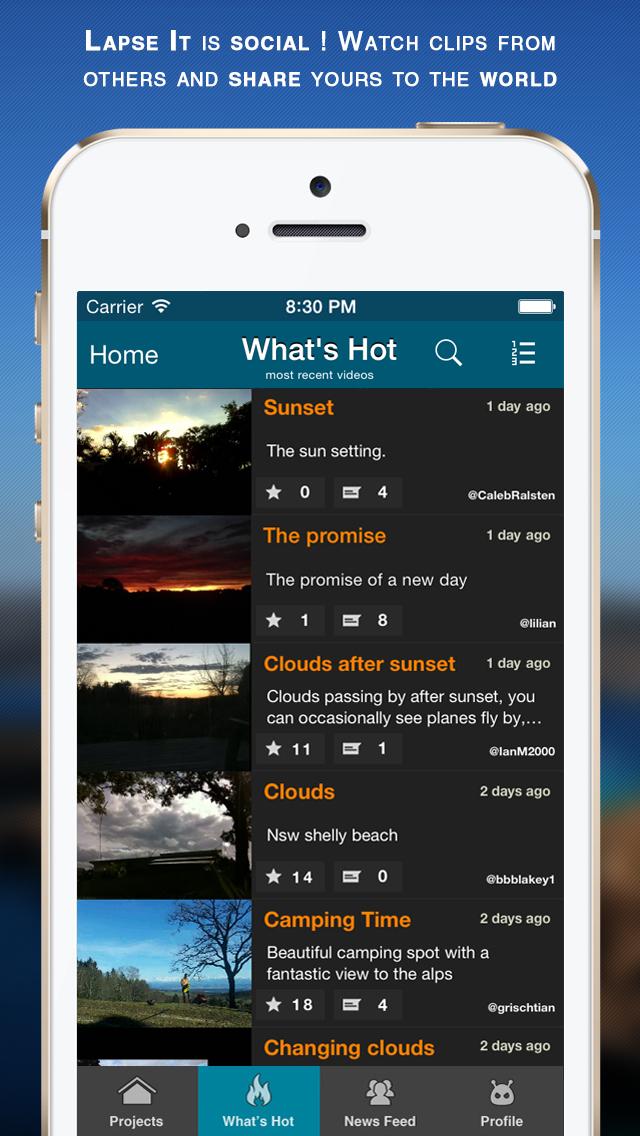 Lapse It Pro screenshot 5