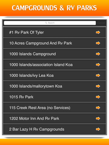 Campgrounds & RV Parks screenshot 7