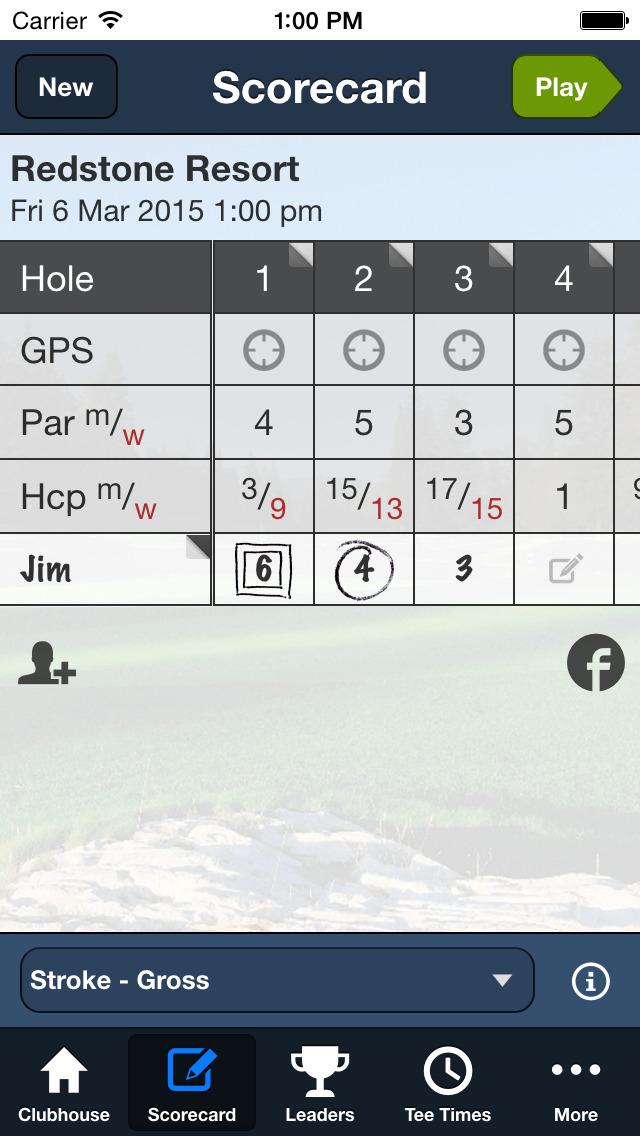 Redstone Resort Golf screenshot 3