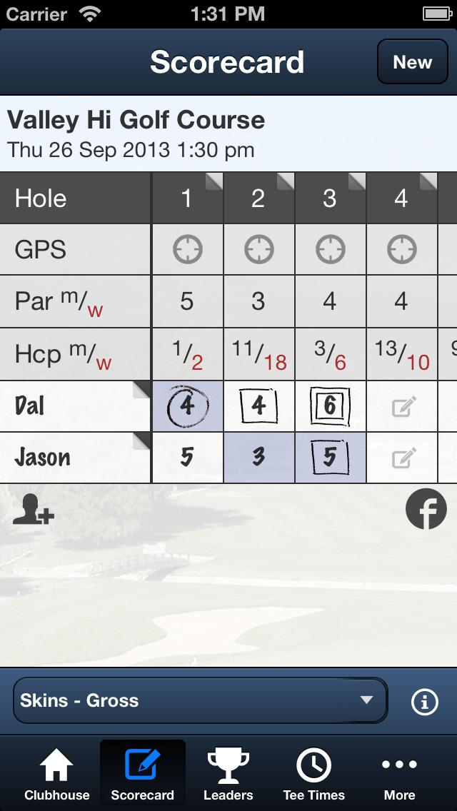 City of Colorado Springs Golf screenshot 4