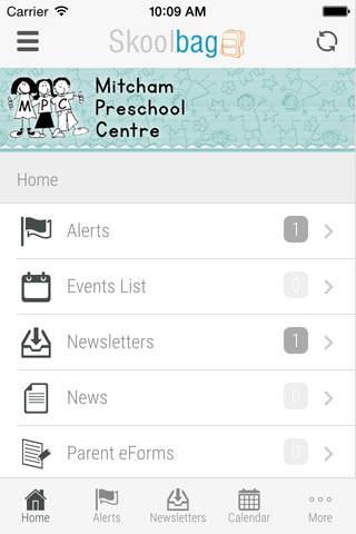 Mitcham Preschool Centre - Skoolbag - náhled