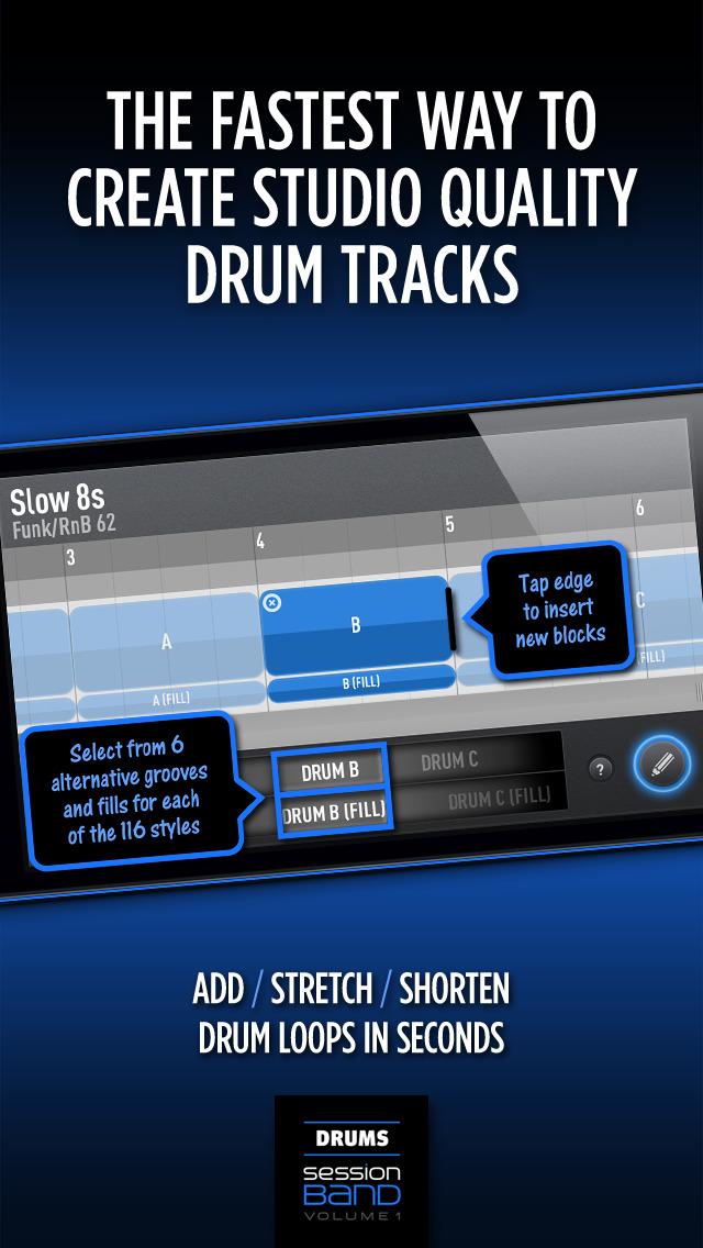 SessionBand Drums 1 screenshot 3