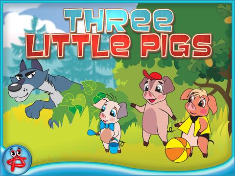 Three Little Pigs: Free Interactive Touch Book screenshot 6