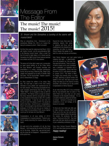 Vincy Carnival Souvenir Magazine screenshot 8