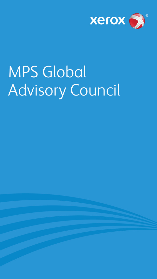Xerox MPS Advisory Council screenshot 1