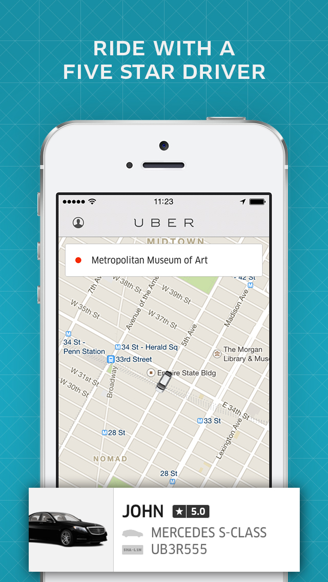 Uber screenshot 3