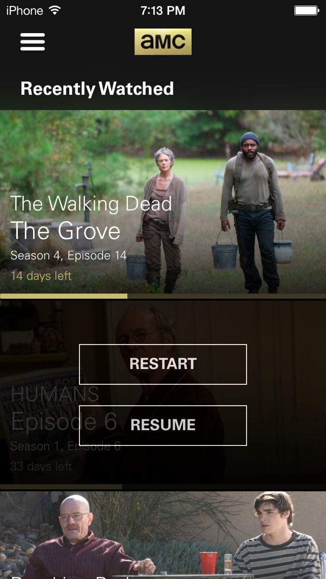 AMC: Stream TV Shows & Movies screenshot 2