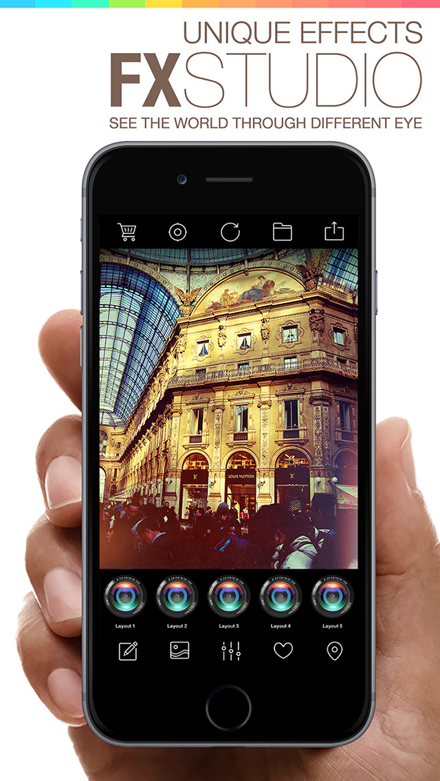 Camera Shot 360 - camera effects & filters plus photo editor screenshot 1