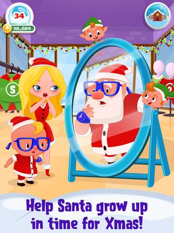 My Newborn Santa - Grow A Christmas Baby screenshot 6