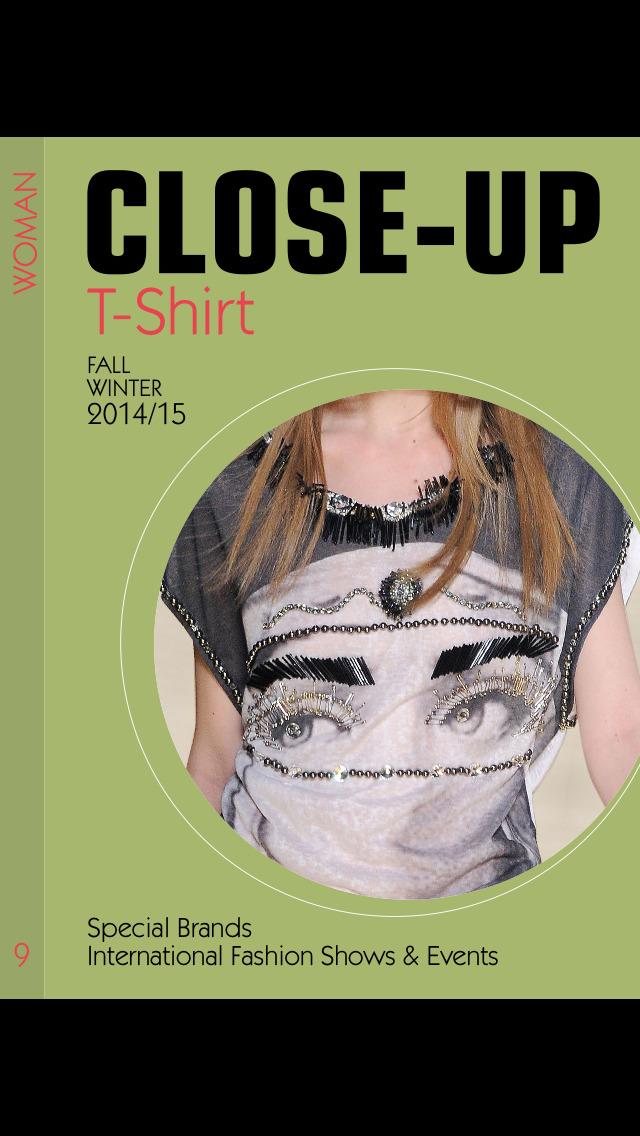 Close-Up Woman T-Shirt screenshot 1