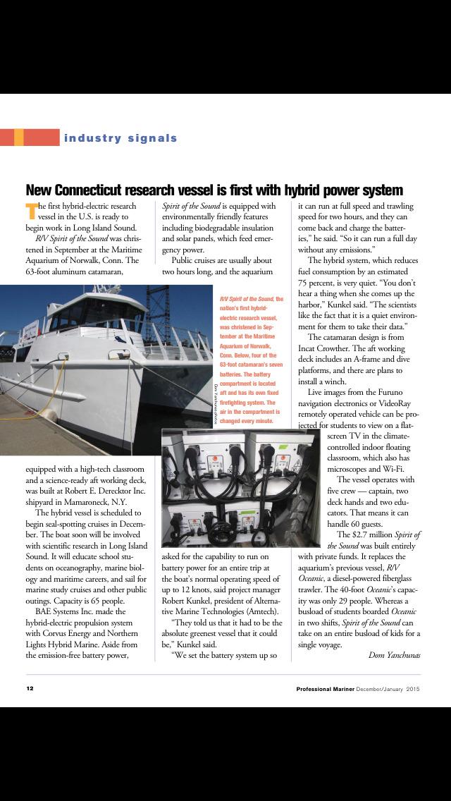 Professional Mariner Magazine screenshot 2