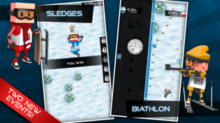 Flick Champions Winter Sports screenshot 2