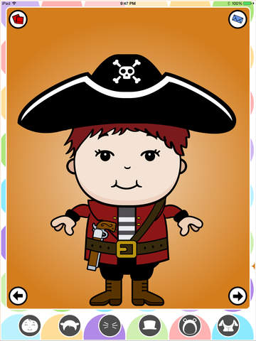 DressUpKids screenshot 1