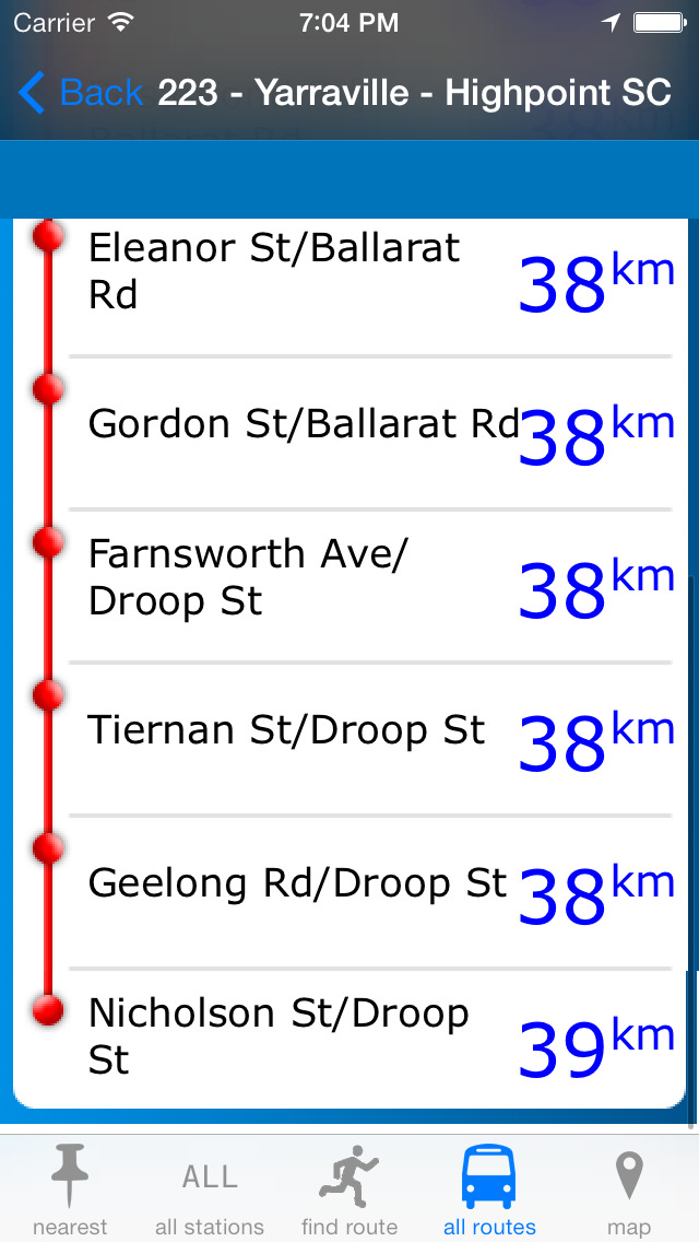 Melbourne Buses screenshot 1