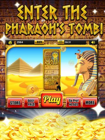 Ace Slots Pharaoh's Gold - Jackpot Kingdom Journey Slot Machine Games Free screenshot 6