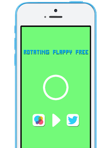 Rotating Flappy FREE screenshot 10