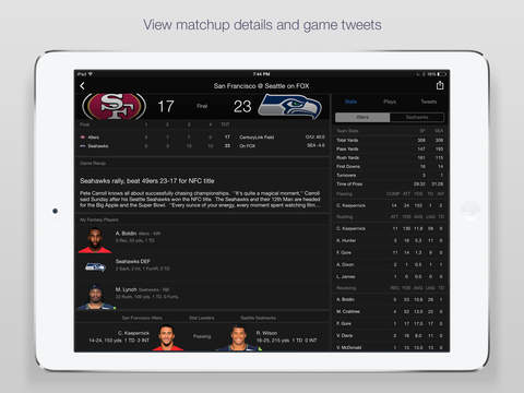 Yahoo Sports: Watch NFL games screenshot 8
