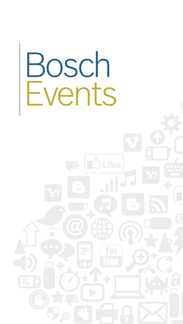 Bosch Events screenshot 1