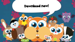 Play with Baby Pets - The 1st Sound Game for a toddler and a whippersnapper free screenshot 5
