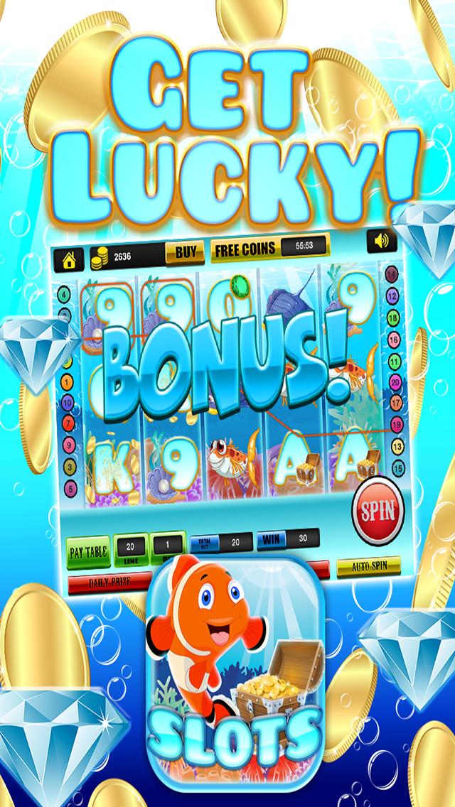 Ace Rich Fish Casino Slots - Lucky Jackpot Prize Wheel Slot Machine Games HD screenshot 5