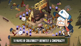 Gravity Falls Mystery Shack Attack FREE screenshot #4