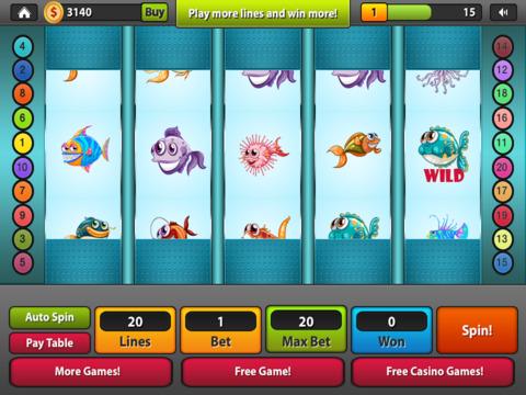 Fish Slots Craze House of Rich-es Las Vegas Casino - Win Big with Fun Xtreme Slot Machine Game Free screenshot 8