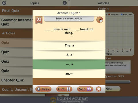 Grammar Expert : English Grammar Intermediate screenshot 10