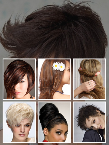 Hairstyle Try- Woman Hair Styles and Haircuts Idea screenshot 9