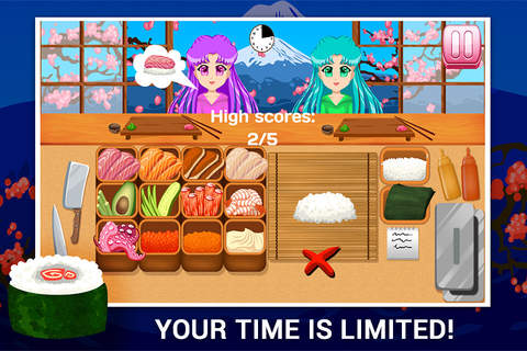 Sushi Making Game CROWN - náhled