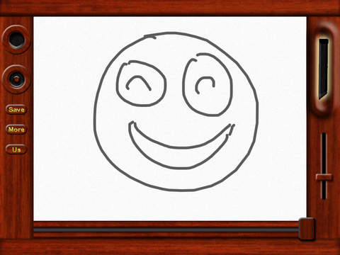 Classic Magnetic Doodle Board screenshot 1